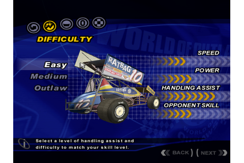 World of Outlaws: Sprint Car Racing 2002 (2003 - Windows ...