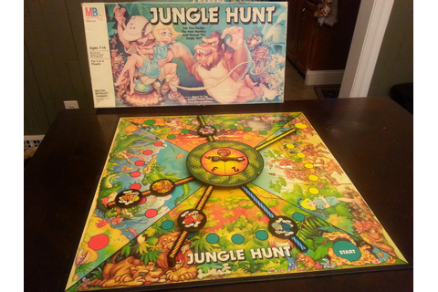 Jungle Hunt | A Board Game A Day