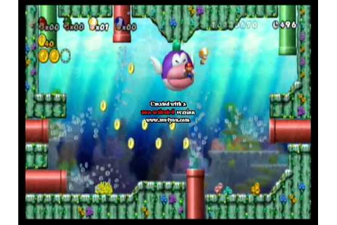 New Super Mario Bros. Wii LOL Game Over - YouTube