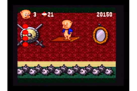 "Porky Pig's Haunted Holiday (snes;1995) part 3 ""Games ..."