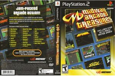 Midway Arcade Treasures 1 Sony PlayStation 2 PS2 COMPLETE ...