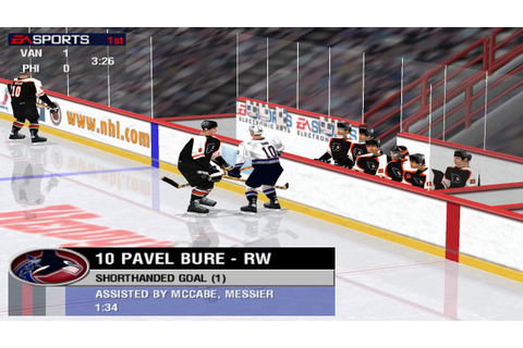 NHL 99 (PC) gameplay - dirty game, RIP referee - YouTube