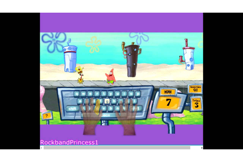 Spongebob Squarepants Games - Spongebob Type Rider Game ...