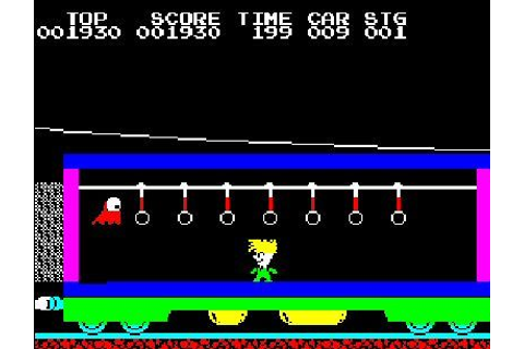 Stop the Express (ZX Spectrum) — They Were Our Gods