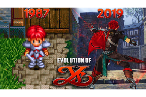 Evolution of YS Games 1987-2019 - YouTube