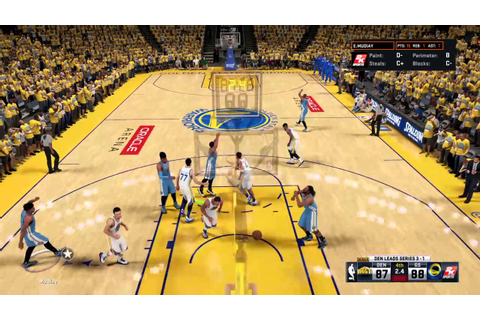NBA 2K16 Curry Game Winning Full Court Shot!! - YouTube