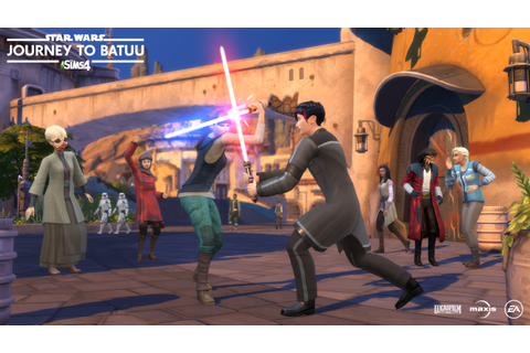 'The Sims 4 - Star Wars: Journey to Batuu' Review: A ...