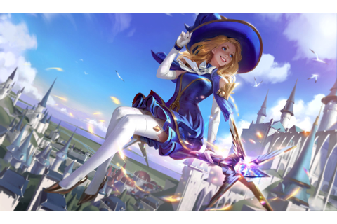 Wildrift Sorceress Lux High Definition Splash Art : lux