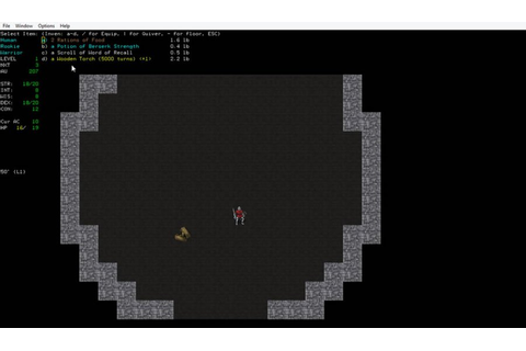 Download Angband, a free, open source game