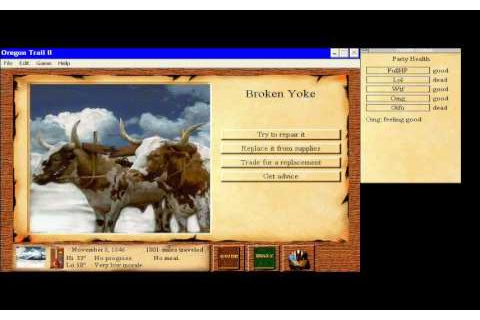 The Oregon Trail II download PC