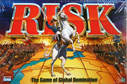 Risk (the game of WORLD DOMINATION) | AARON LEWIS