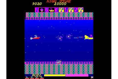 Arcade Game: Mariner (1981 Amenip) - YouTube
