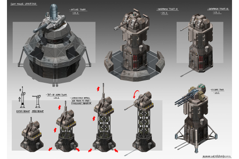 ArtStation - Isometric Game Concepts, Nicholas Lim