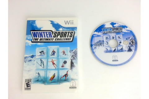 Winter Sports the Ultimate Challenge game for Wii | The ...