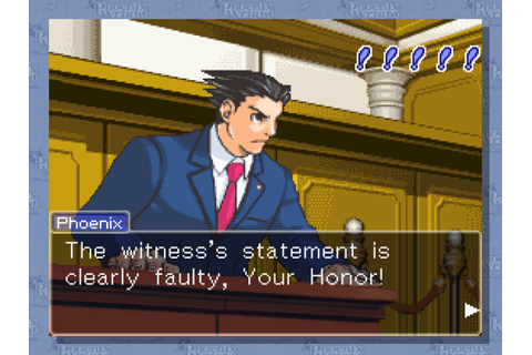 WiiWare Phoenix Wright on Monday | WIRED