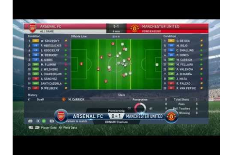 Pro Evolution Soccer 2015 ( PES 2015 ) PC Gameplay ...