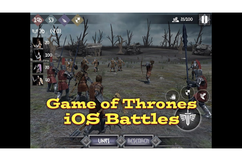 "Heroes and Castles 2: ""Game of Thrones iOS Battles"" - YouTube"