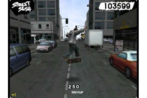 Street Sesh/Skateboarding game - YouTube