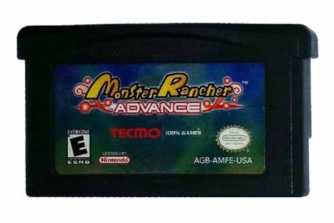 Buy Monster Rancher Advance Game Boy Advance Australia