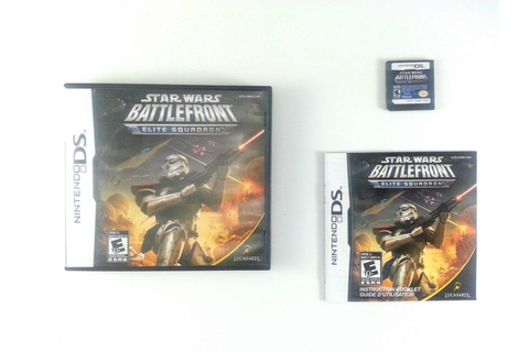 Star Wars Battlefront: Elite Squadron game for Nintendo DS ...