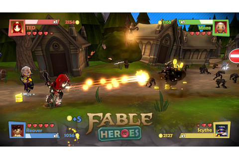 Fable Heroes: Some heroic screenshots