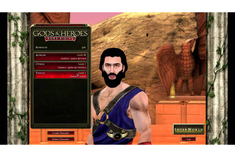 Gods and Heroes -Rome Rising : Official Walkthrough - YouTube