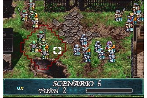 Langrisser V ~The End of Legend~ Saturn Screenshots ...