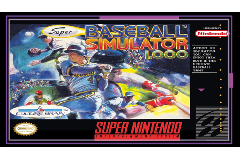 SNES Super Side Quest - Game # 22 - Super Ultra Baseball ...