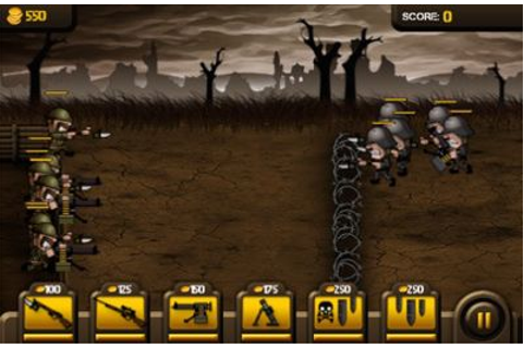 Trenches iPhone game - free. Download ipa for iPad,iPhone ...