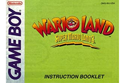 Amazon.com : Wario Land - Super Mario Land 3 GBC ...