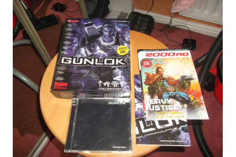 2000ad Collectables: Gunlock Video Game with 2000ad Comic