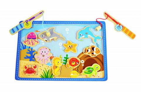 Magnetic Fishing Game - Wooden Toys and Puzzles for ...