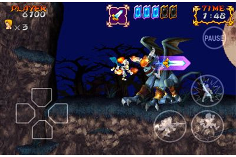 Ghosts'n Goblins Gold Knights iPhone game - free. Download ...