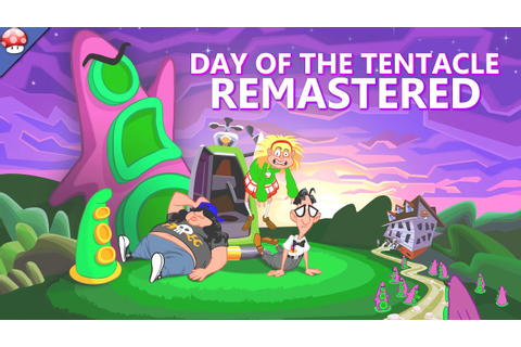 Day of the Tentacle Remastered: Gameplay (PC HD) - YouTube