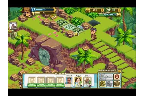 Adventure World - An Indiana Jones Game - YouTube