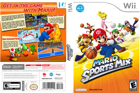 Games Covers: Cover Mario Sports Mix - Wii