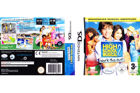 High School Musical 2: Work This Out! (2008) Nintendo DS ...