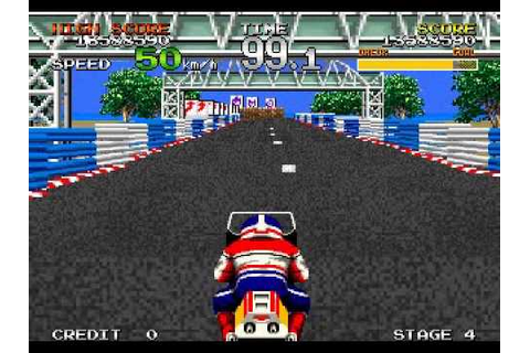 Racing Hero (ARCADE) Time - YouTube