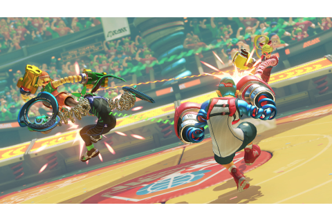 Hands On With ARMS, the Next Big Game for Nintendo Switch
