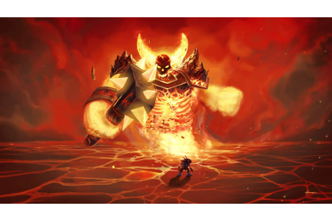 Ragnaros The Firelord - YouTube