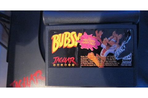 Dusty Old Games: Bubsy in: Fractured Furry Tales - Atari ...