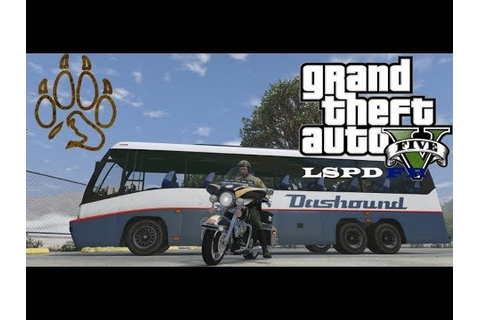 GTA 5 LSPDFR: Highway Patrol Bike Officer 2 - YouTube
