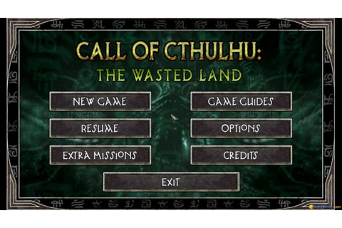 Call of Cthulhu: The Wasted Land gameplay (PC Game, 2011 ...