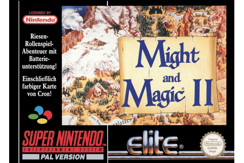 Might And Magic II - Gates To Another World - SNES ROM ...