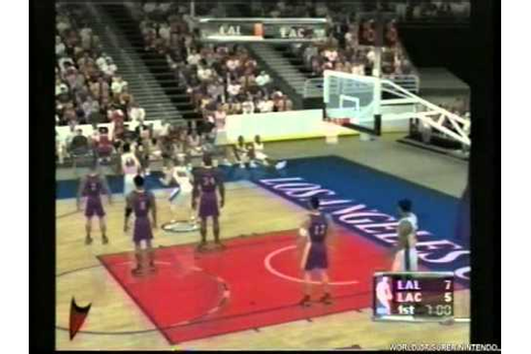 NBA Courtside 2002 GER Preview Gamecube - YouTube