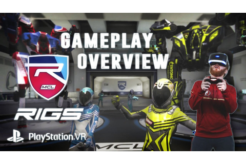 RIGS: Mechanized Combat League gameplay overview - PSVR ...