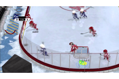 NHL 3 on 3 Arcade - Game 2 - YouTube