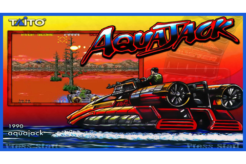 AQUAJACK - Año 1990 - Arcade 90´s - YouTube