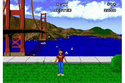 Play California Games Sega Genesis online | Play retro ...