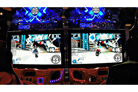 Arcade SnoCross Winter X Games Arcade Dual Screen ...